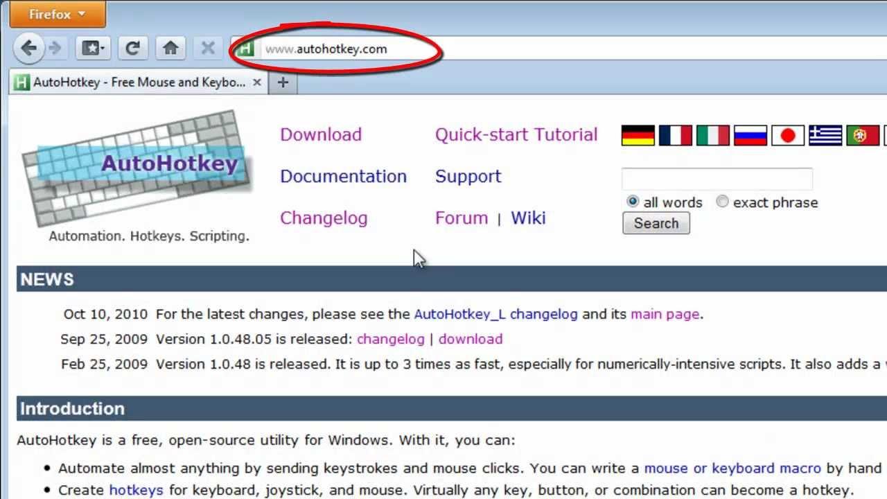 AutoHotKey for translators