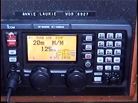 Icom M 802 Video #I initial instruction