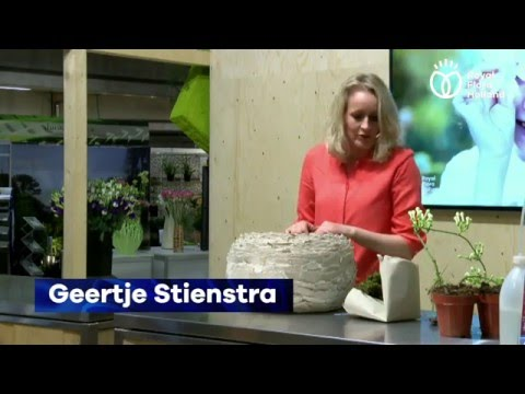 Demo Geertje Stienstra LIVE @ Royal FloraHolland Seasons Trade Faire & Florist Event 2016