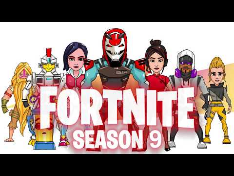 Fortnite Season 9 Poster