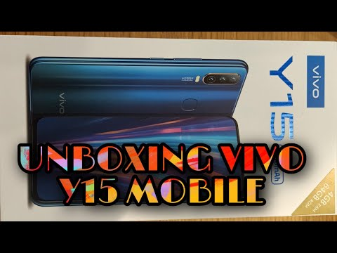 vivo-y15-mobile-unboxing-and-reviews