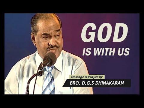 God Is With Us (English - Hindi) | Dr. D.G.S. Dhinakaran