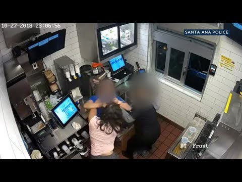 RAW VIDEO: Santa Ana McDonald's manager attacked by woman over ketchup | ABC7
