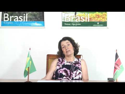 THE WORLD SHOW VISIT TO BRAZILIAN EMBASSY