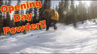 Beaver Creek Opening Day 2018 Snowboarding - (Season 3, Day 24) #snowboarding #skiing #colorado