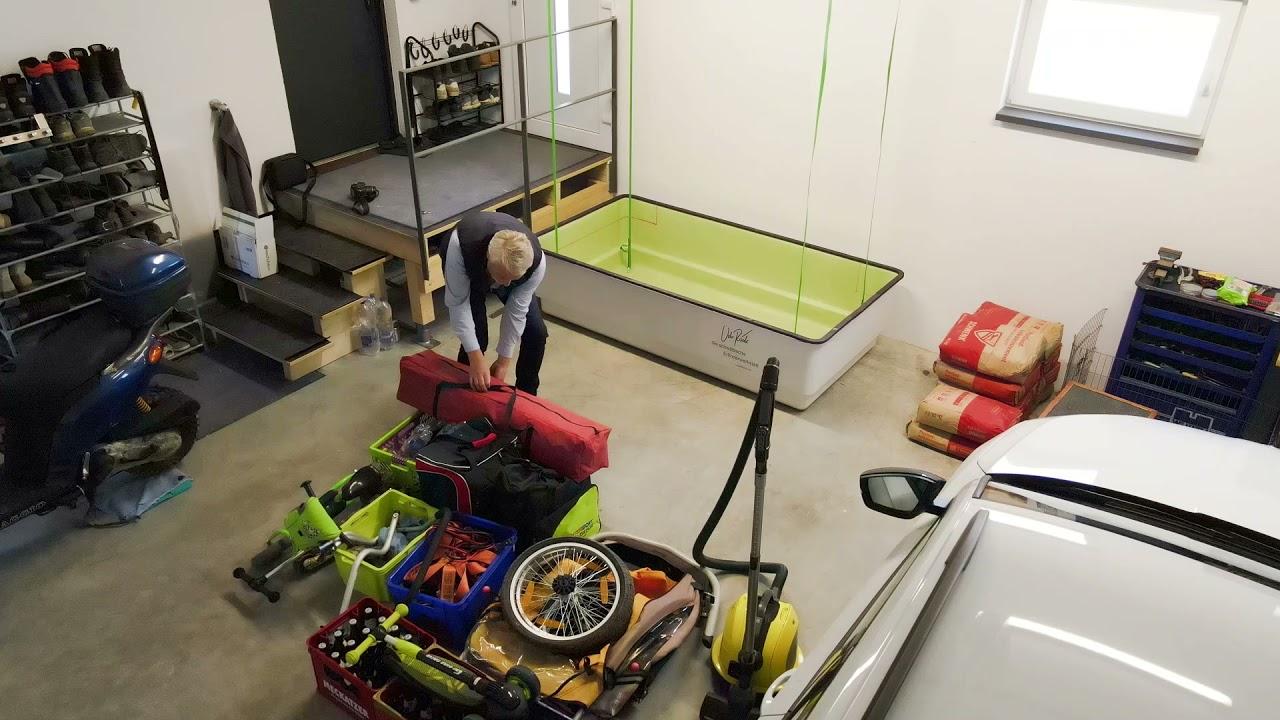 Das Deckenlager - Deckenlagersysteme, geschlossen, geschützt, aus dem Weg und leicht zugänglich