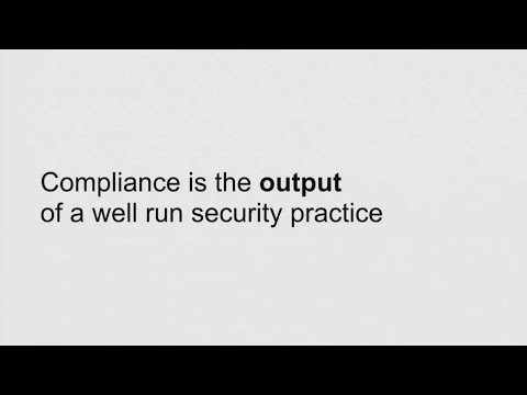 AWS re:Invent 2016: Lessons from a Chief Security Officer: Achieving Continuous Compliance (SAC201)