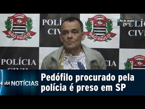 Ex-vereador procurado por pedofilia é preso em São Paulo | SBT Notícias (13/07/18)