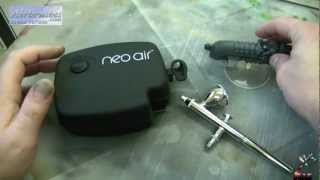 Airbrush. What, How & Why - Part 3. Neo Air miniature desktop compressor.