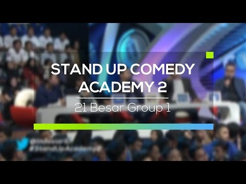 Highlights Stand Up Comedy Academy 2  - 21 Besar Group 1