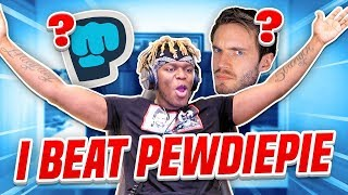 I BEAT PEWDIEPIE IN...