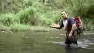 cruzando el rio JAMAPA