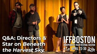 Q&A: Aidan Gillen & Directors on BENEATH THE HARVEST SKY (IFFBoston 2014)