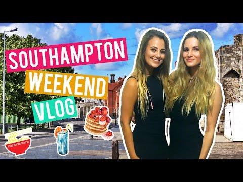Weekend Vlog In Southampton | Clubbing, Pancakes & Food Buffet | Alarah