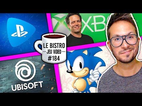 Ubisoft séduit par les PS5 et Xbox Scarlett, PS Now va évoluer, Sonic sur la plage en France...
