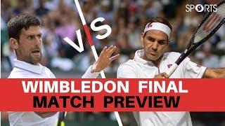Match Point: Roger Federer vs Novak Djokovic 2019 Final | #Wimbledon