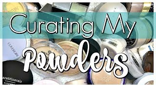 DECLUTTER | Curating My Powder Collection