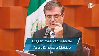La farmacéutica británica es la que ha distribuido más dosis de la vacuna contra Covid-19 en México; suma 42 millones 931 mil 400