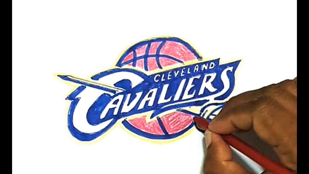 How To Draw The Cleveland Cavaliers Logo Youtube