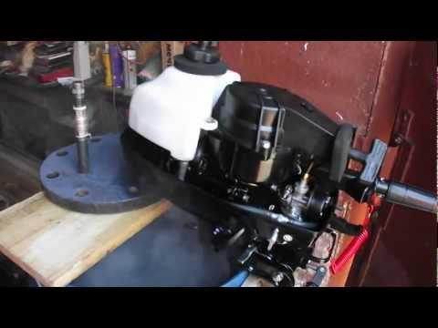 как правильно поменять масло в редукторе лодочного мотора