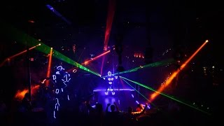 LED and Laser Shows   Scarletts Cabaret Miami