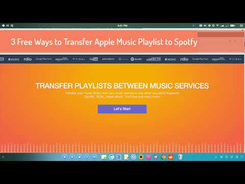 Move your spotify playlists to apple music