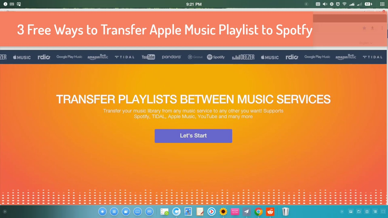 4 Free Ways to Transfer Apple Music Playlists to Spotify - Chrunos