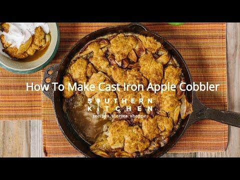 How To Make Cast Iron Apple Cobbler