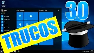 30 trucos y tips que Desconocias de Windows 10