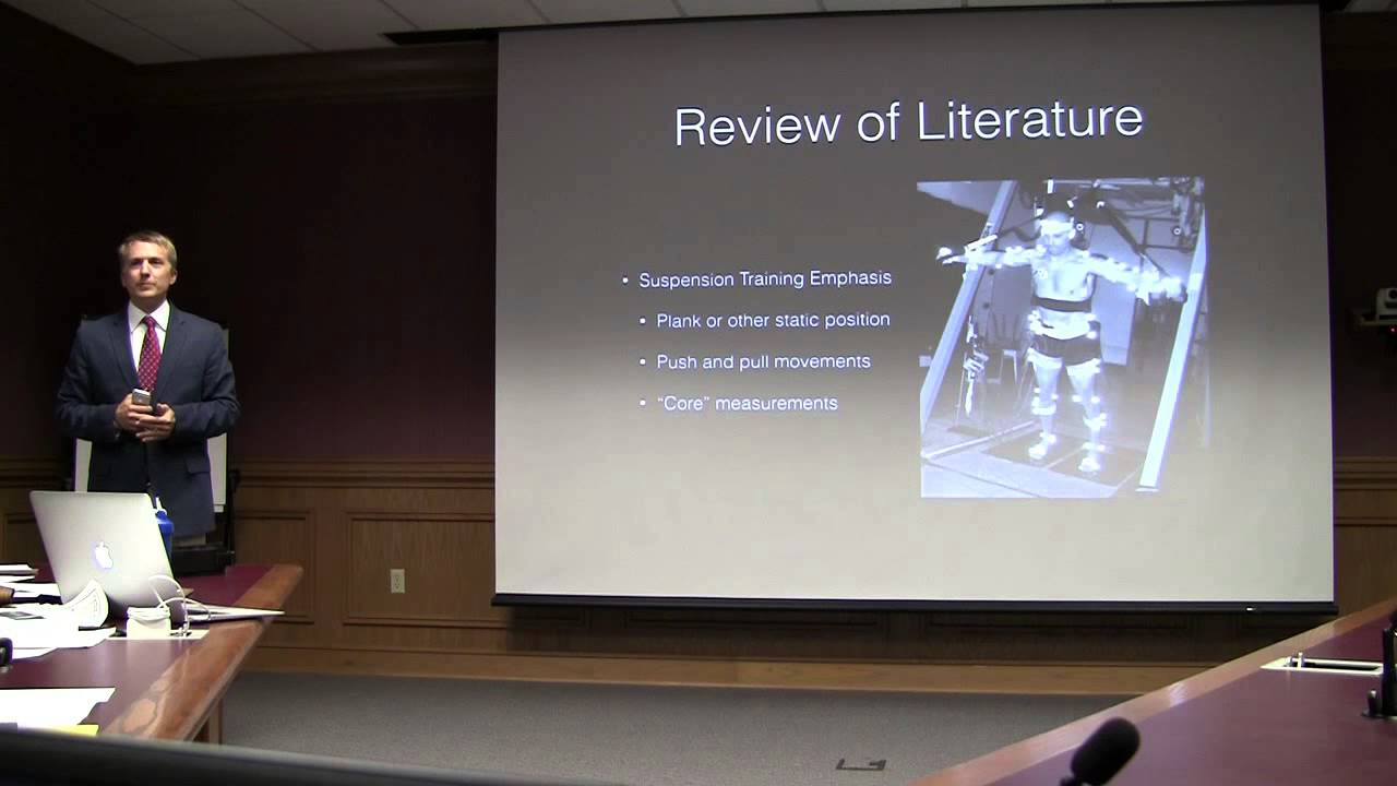 Jason Reeves Literature Review Presentation - YouTube