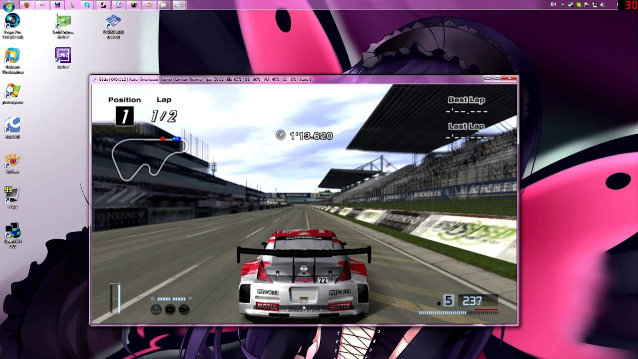 Gran Turismo 4 On PC In 720p [PCSX2 1.0.0 R5350]