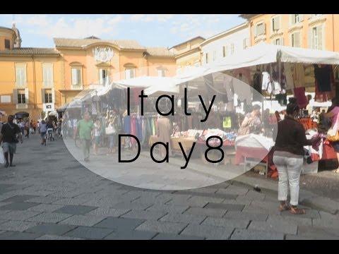 Vlog: Italian Market! (Italy June 27, 2014)