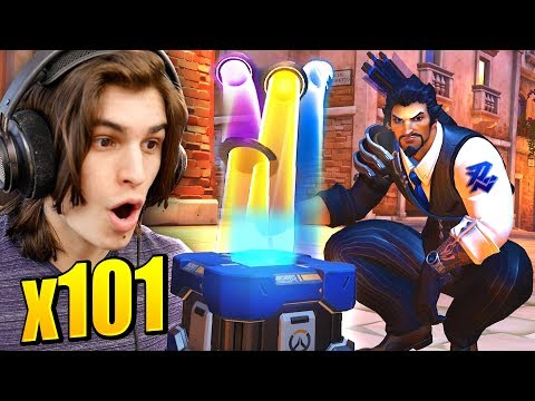 101x RETRIBUTION LOOTBOX OPENING! | Overwatch Archives Event