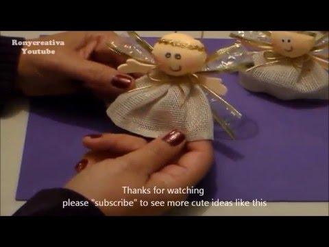 DIY angel craft souvenir & gift / Ronycreativa English Channel