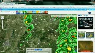 4/27/2014 -- Severe weather outbreak across midwest US -- Joplin Missouri tornadoes