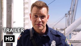 9-1-1 (FOX) Trailer HD - Ryan Murphy drama series