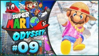 Super Mario Odyssey - Seaside Kingdom 100% Walkthrough! [Part 9]