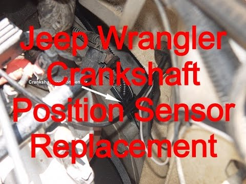 on Jeep Cherokee Crankshaft Position Sensor Location