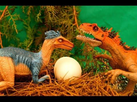 видео поезд динозавров