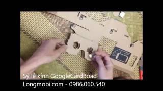 Bán kính 3D thực tế ảo Google Cardboad giá chỉ 80k