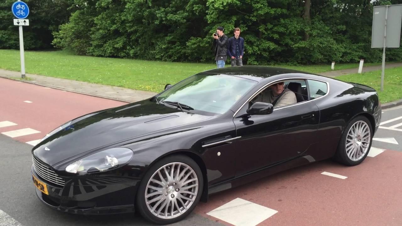 Aston Martin DB9  Cars and Coffee XXL 2016  exhaust sound