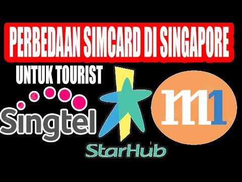 MURAH POL! Perbedaan Simcard (Singtel, Starhub, M1) di Singapore untuk Turis. Kuota Murah Backpacker Mp3
