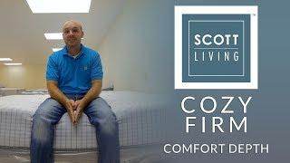 Restonic Scott Living Cozy Firm Mattress Comfort Depth 3