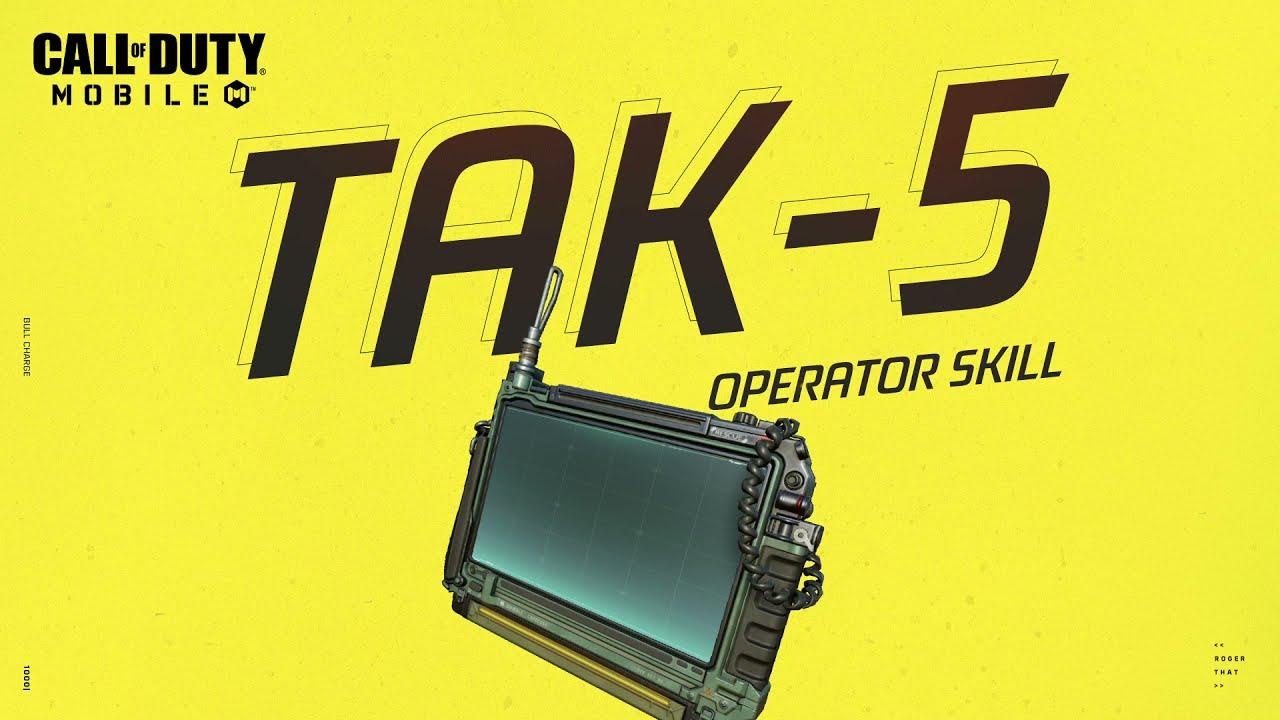 Call of Duty®: Mobile - S9 Operator Skill | TAK-5