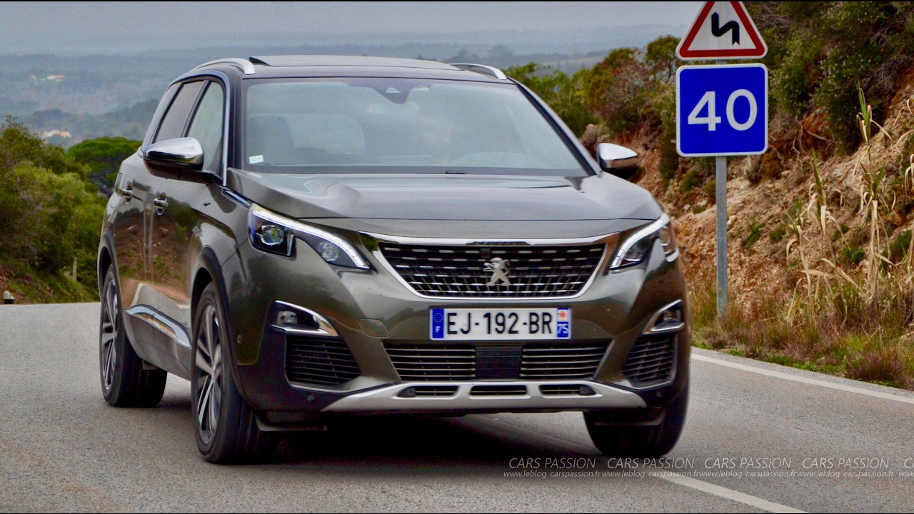 essai peugeot 5008 gt bluehdi 2017 suv et 7 places vlog. Black Bedroom Furniture Sets. Home Design Ideas
