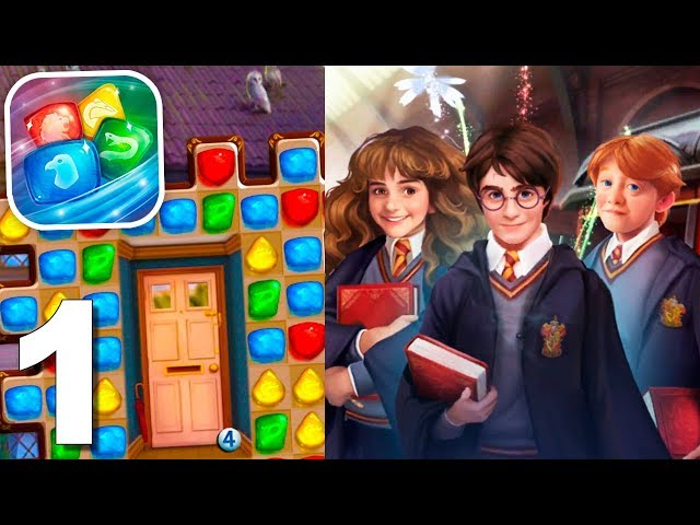 Harry Potter: Puzzles & Spells (by Zynga) Gameplay Walkthrough 1-15 Levels (Android)