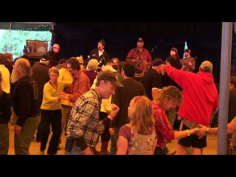 Donna the Buffalo with Preston Frank - Stole my Chicken -  Dance Tent -  Shakori Hills Oct 2012.mp4