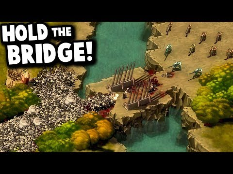 ONE BRIDGE vs MASSIVE ZOMBIE HORDE! | They Are Billions '28