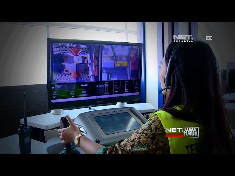 NET. JATIM - SENTUHAN FEMINIM OPERATOR STACKING CRANE