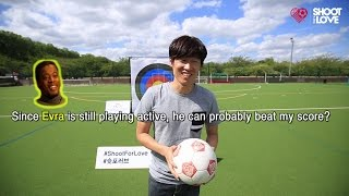 Shoot for Love Challenge : Ji-sung Park, Manchester United